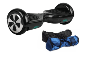 Black 6.5 Inch Classic Hoverboard With Free Bag & Remote Control
