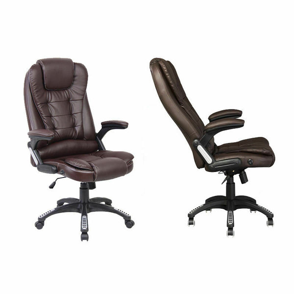 Executive Leather Gaming/Computer Desk Office Swivel Reclining Chair