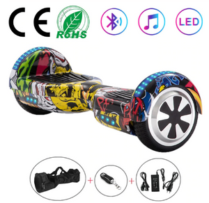Hip Hop 6.5 Inch Hoverboard With Bluetooth & Remote Control