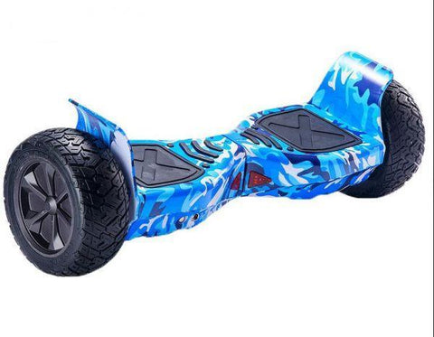 Blue Off Road 8.5 Inch Hoverboard With Remote Control Bluetooth Speaker & App - Hoverboard Ireland For Sale