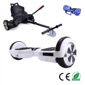 Suspension Hoverkart and Hoverboard Bundle Deal (Multiple Colour Options)