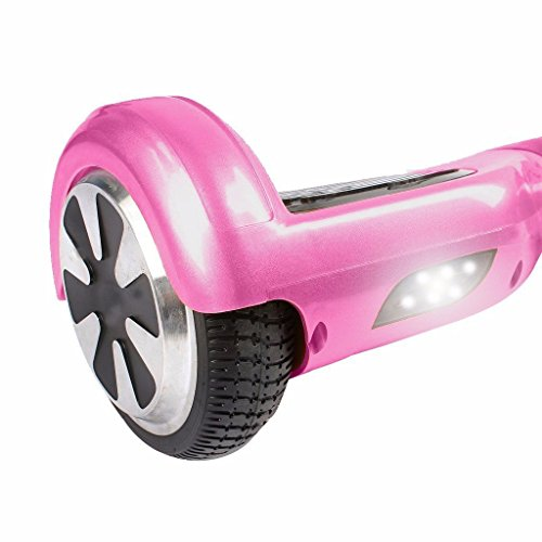 Pink 6.5 Inch Classic Hoverboard With Free Carrier Bag & Remote Control