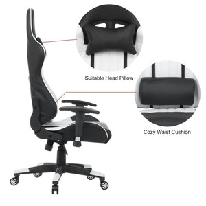 Ergonomic Confenrence Office Reclining Racing Chair  Computer Chair Revolving Gaming Recliner  Gaming Chair Boss Armchair