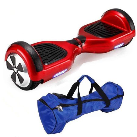 Red 6.5 Inch Classic Hoverboard With Free Bag