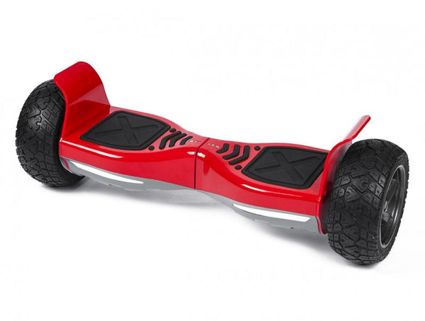 Red All Terrain Hummer 8.5 Inch Hoverboard With Remote Control Bluetooth Speaker