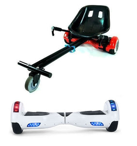 LED & Bluetooth 6.5 Inch Hoverboard & Hoverkart Bundle
