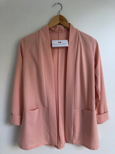 Blazer long rose