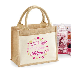 Sac Jute Chipie