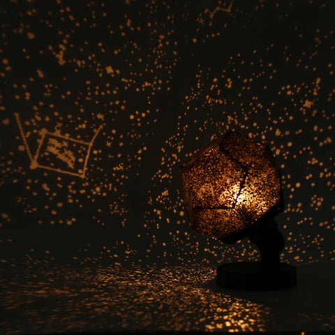 Starry Sky Projector Light Cosmos Four Seasons Constellation Stars Projection Lamp Romantic Night Lamp Security & Protection