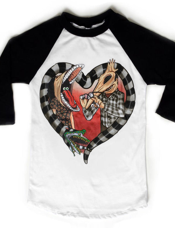 Beetlejuice Adam and Barbara Tee
