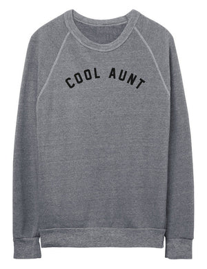 Cool Aunt Gray Sweatshirt