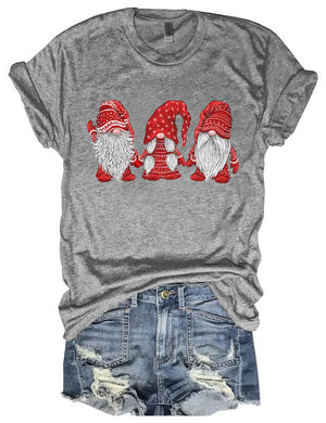 Hangin' With Red Gnomies Tee