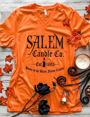 Home Of The Black Flame Candle Tee