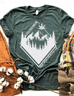 High Upon The Mountain Tee