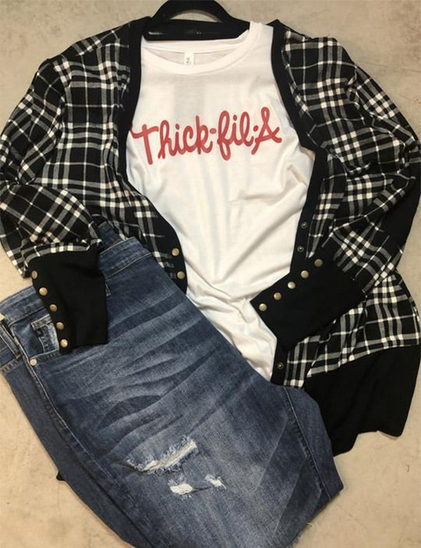 Thick Fil A Tee