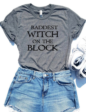 Baddest Witch On The Block Tee