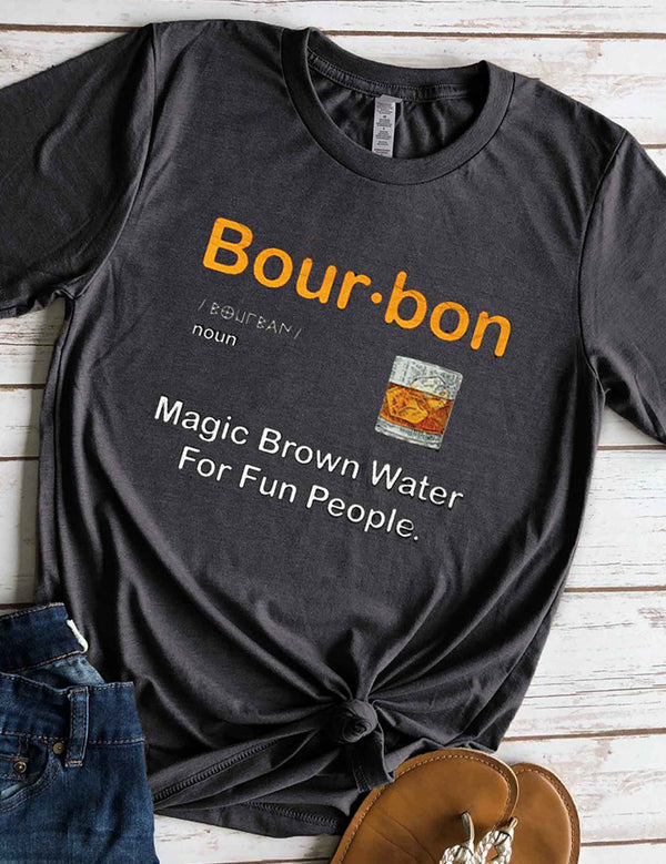 Bourbon Whiskey Tee