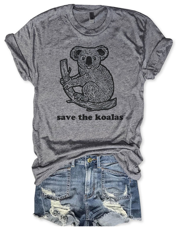 Save The Koalas Tee