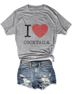 I Love Cocktails Tee