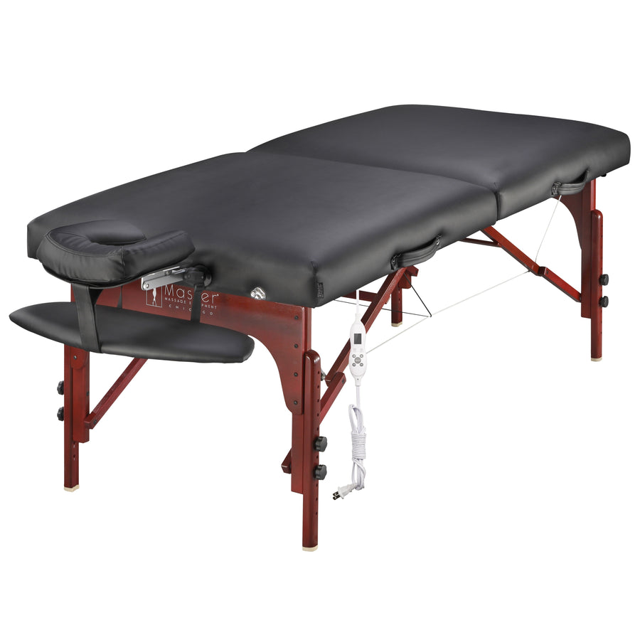 Master Massage 79 CM Montclair Mobil tragbar Massageliege Massagebett Massagebank Kosmetikliege Therma Top
