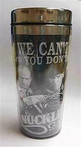 3 Stooges Travel Mug  -  Knuckleheads Garage