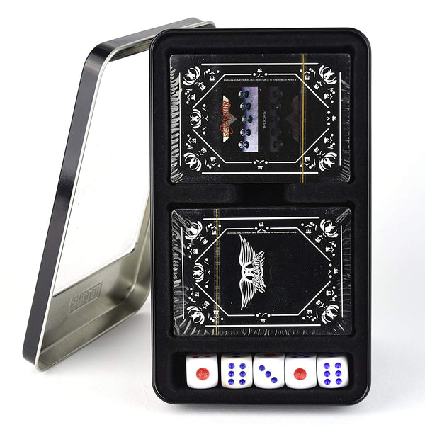 Aerosmith Twin Pack Playing Cards with dice.