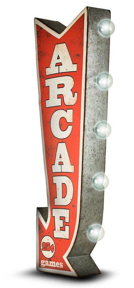 Arcade Vintage Marquee LED Sign