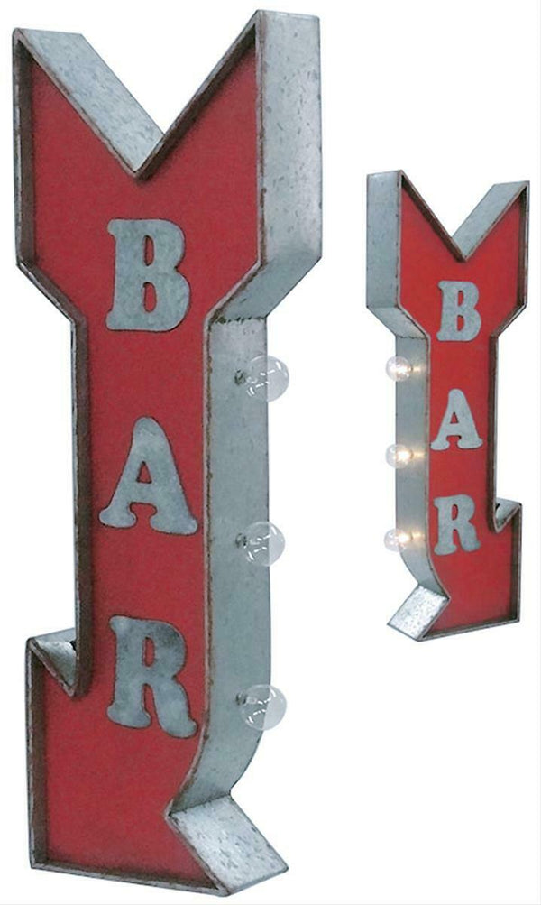 Bar Vintage Marquee LED Sign