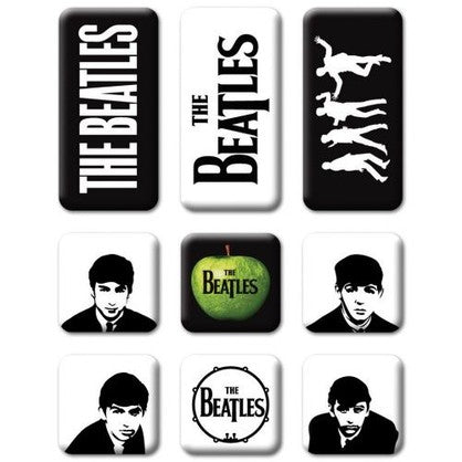 Beatles Classic Icon Magnet Set