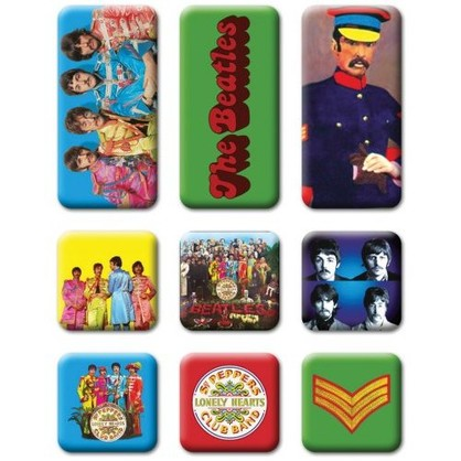 Beatles Sgt Pepper Magnet Set