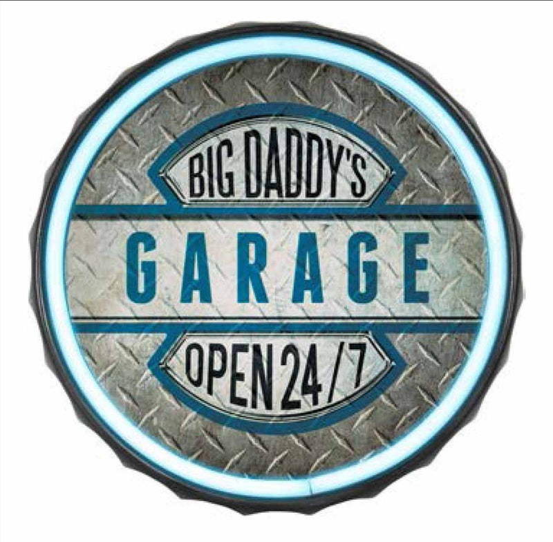 Big Daddy's Garage Neon Sign