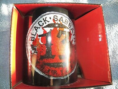 Black Sabbath Mug - 13 flame circle