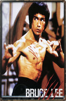 Bruce Lee Tin Sign