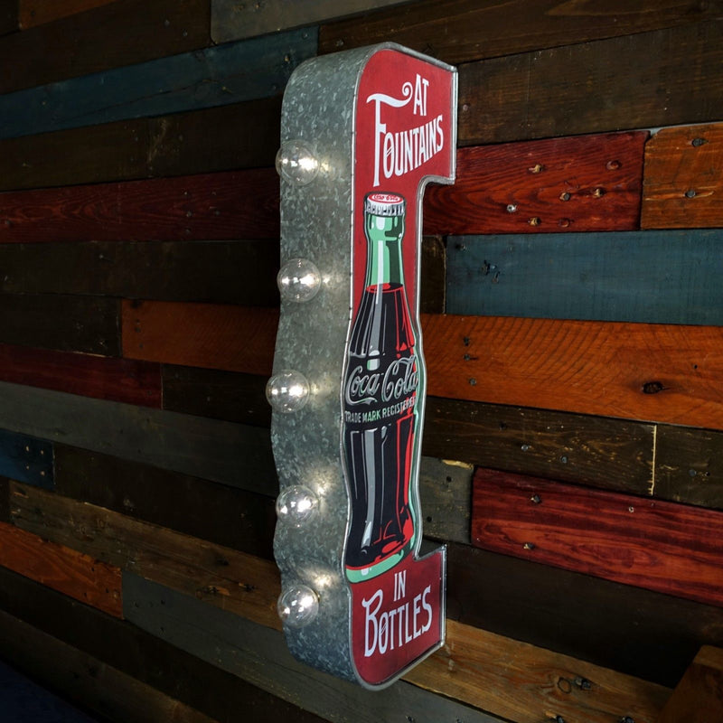 COKE  Vintage Marquee LED Sign
