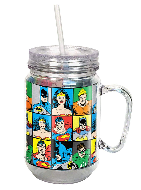 DC Comics Mason Jar