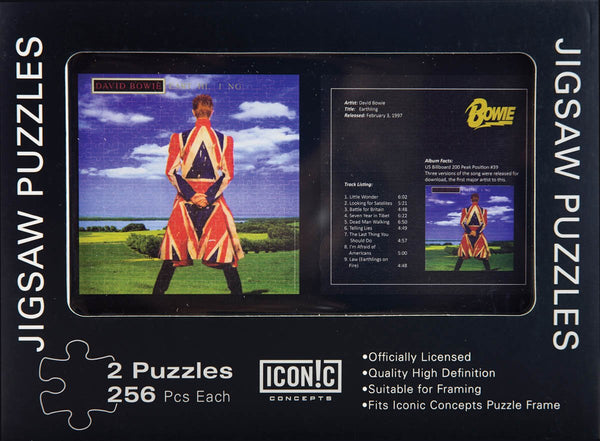 DAVID BOWIE Double Puzzles in Tin Gift Box