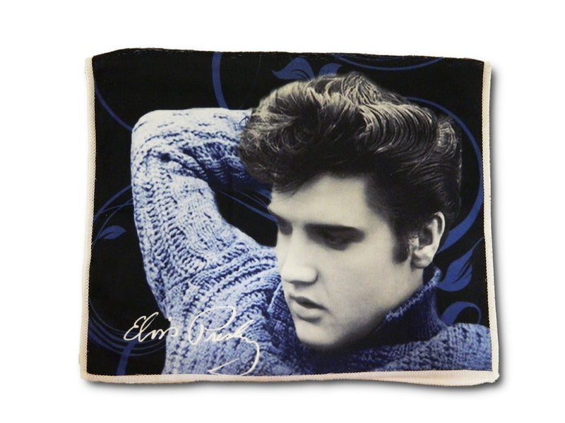 Elvis Tea Towel - Blue Sweater