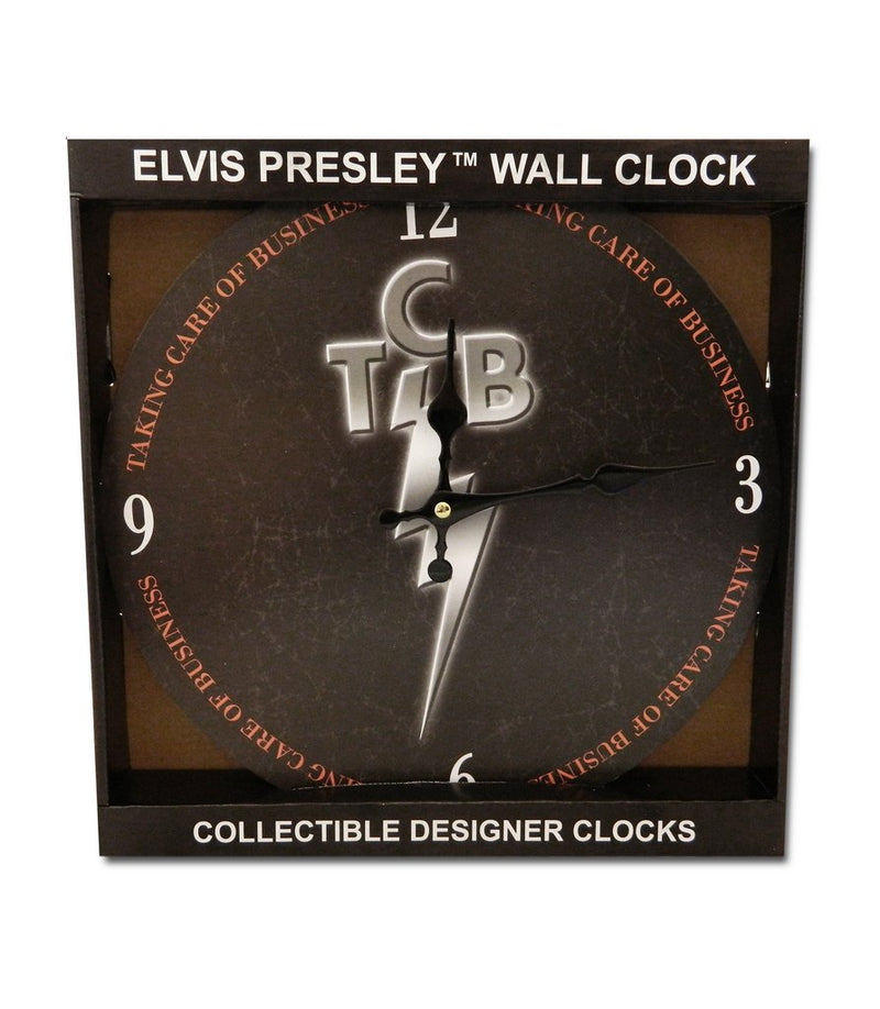Elvis Presley Clock - Taking Care of Business