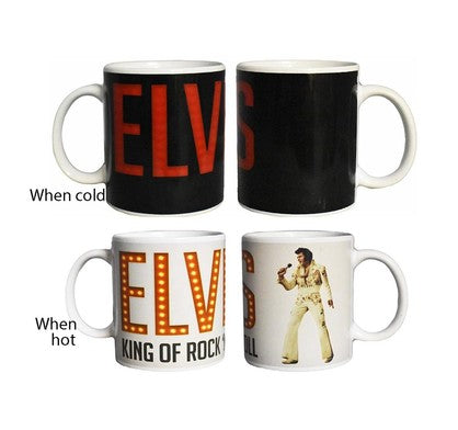 Elvis Presley Heat Changing Mug