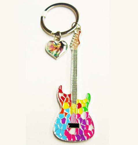 Elvis Presley Keyring with charm