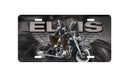 Elvis Tin Sign - Motorcycle with Wings