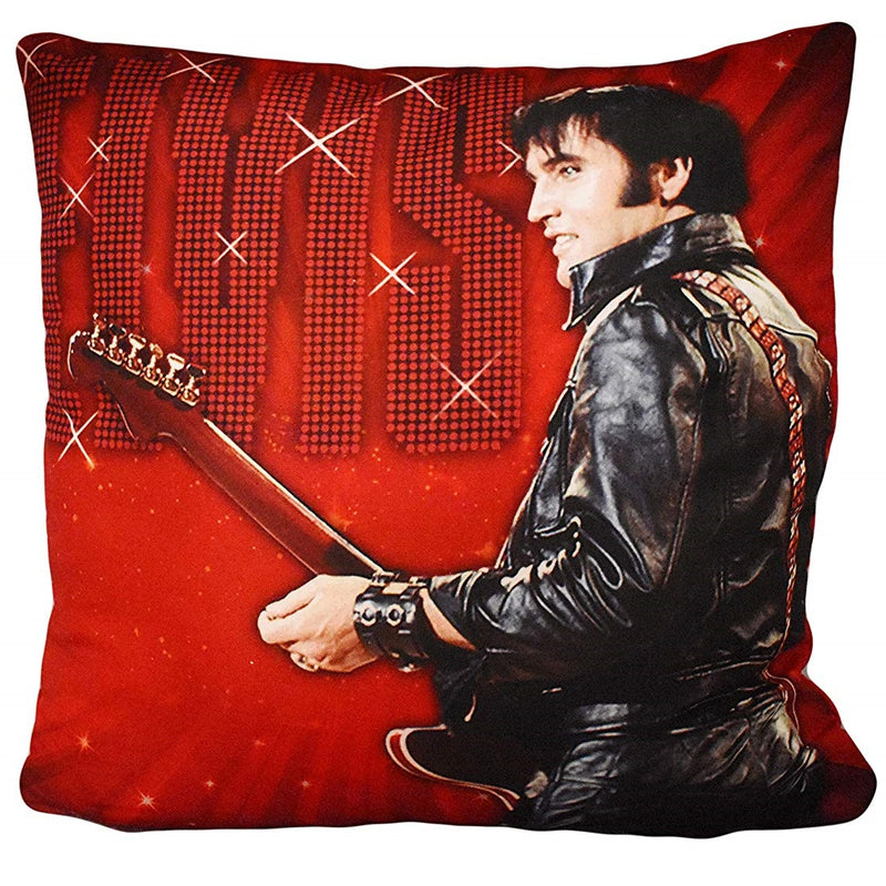 Elvis Presley Cushion - '68 Name In Lights