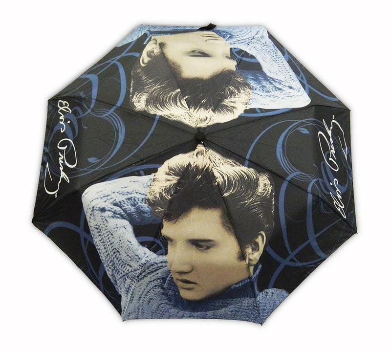 Elvis Umbrella - Blue Sweater
