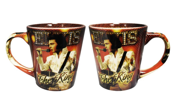 Elvis Coffee Mug - The King Red
