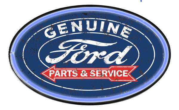 Ford Parts & Services LED Neon Sign **PREORDER**