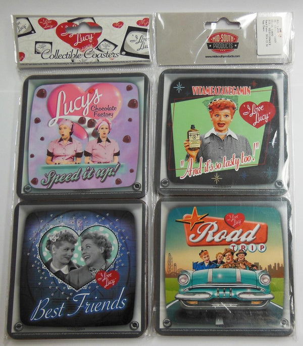 I Love Lucy Coaster Set