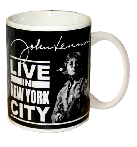 John Lennon Mug - Live in New York City