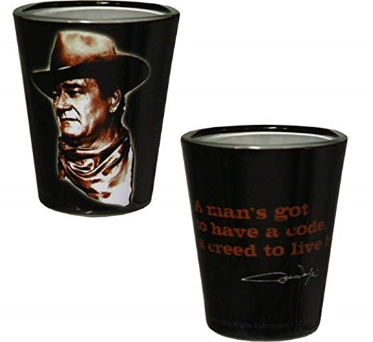 John Wayne Shot Glass Set 3 Piece - The Duke
