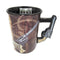 "John Wayne Coffee Mug ""The Duke"" with Decorative Handle"