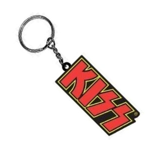 Kiss Rubber Keyring